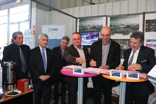 Partenariat renouvel entre erdf la chambre d agriculture 65 et la fdsea 65 site d - Chambre d agriculture tarbes ...