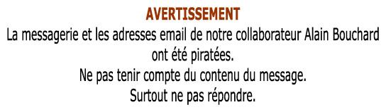 AVERTISSEMENT de Tarbes-Infos Avertissement