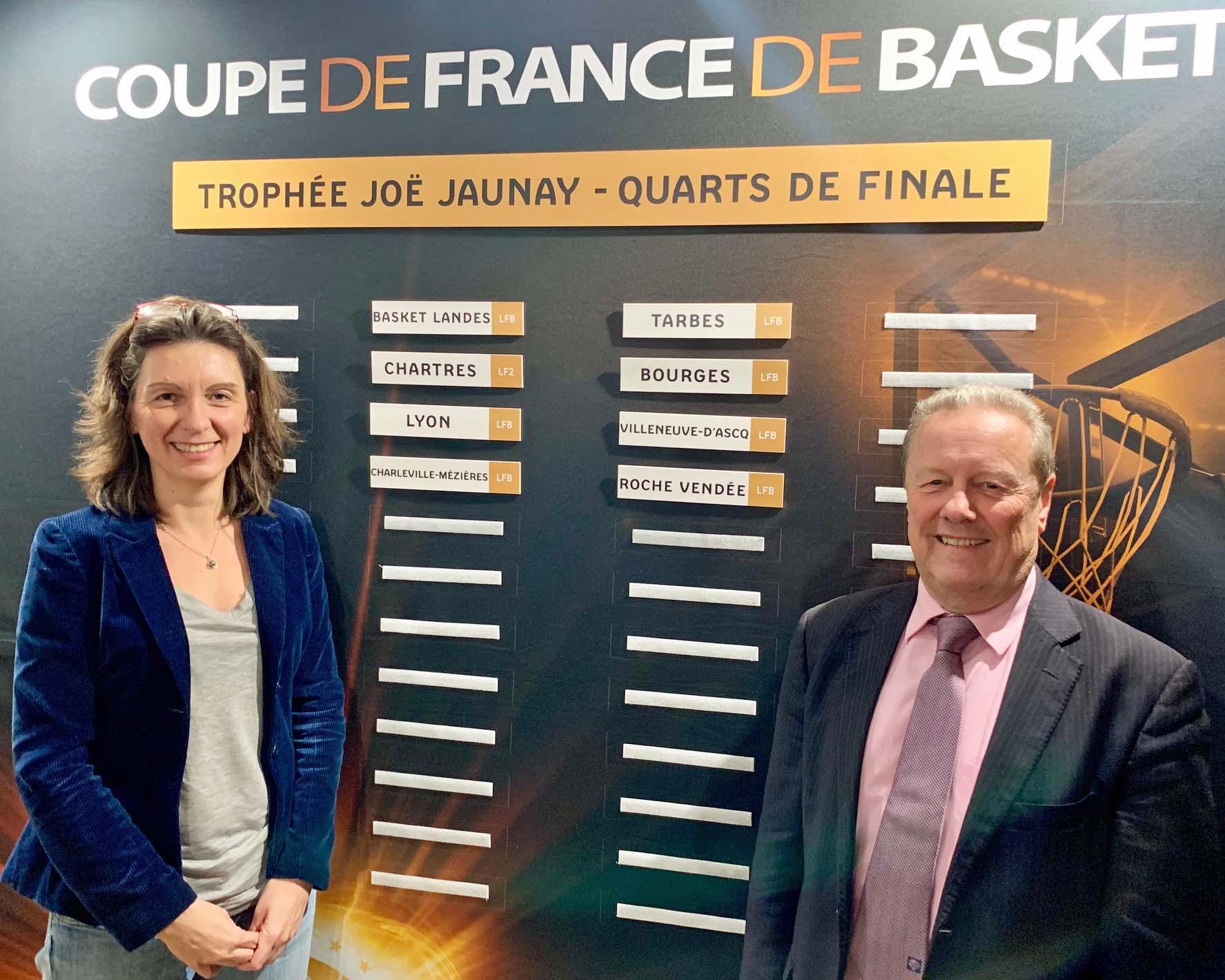 ... Basket Coupe de France F   Basket Landes-TGB en quart de finale ... 615c662e3e3