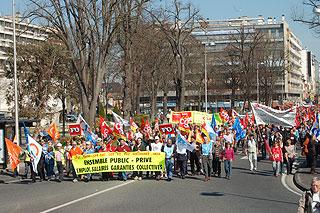 gr ve nationale du 19 mars 20 25 000 manifestants tarbes record battu site d. Black Bedroom Furniture Sets. Home Design Ideas